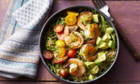 Shrimp and Pesto Bowls Are the Ultimate Weeknight Dinner