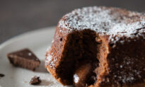 Molten Chocolate Cakes for Your Sweetheart