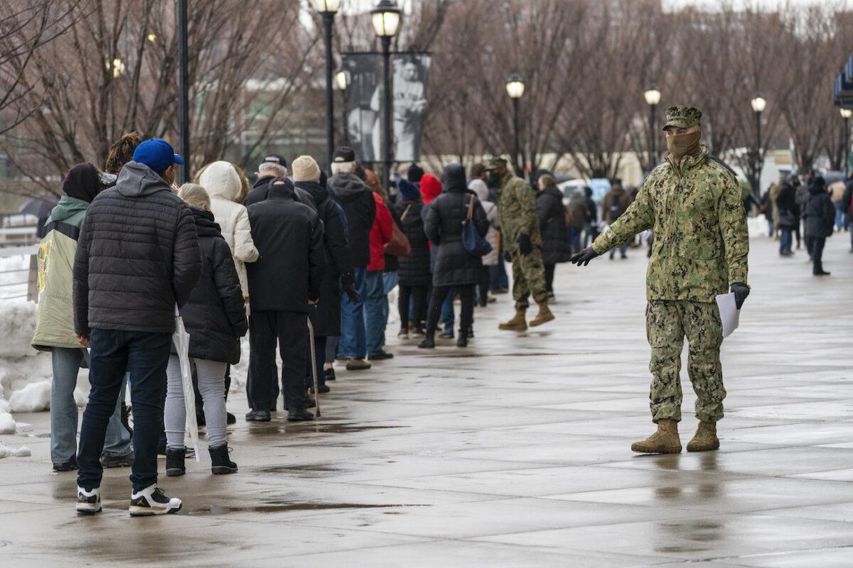 pentagon troops vaccination