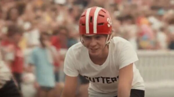 Dennis Christopher as a cyclist in Breaking Away