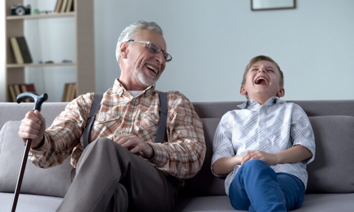 When was the last time you really laughed out loud?(Motortion Films/Shutterstock)