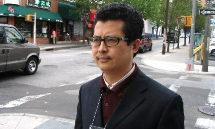 Chinese rights activist Yang Maodong, also known by his pen name Guo Feixiong. (Supplied)