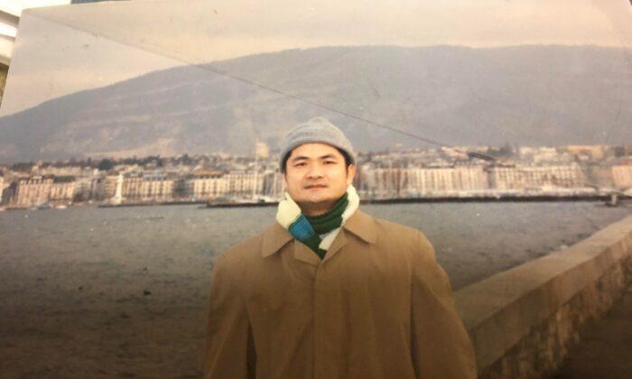Dong Nguyen visiting Geneva, Switzerland, in 2001. (Courtesy of Dong Nguyen)
