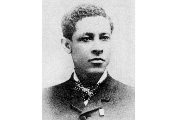 Inventor Jan Ernst Matzeliger (1852-1889) in 1885. (Public domain)