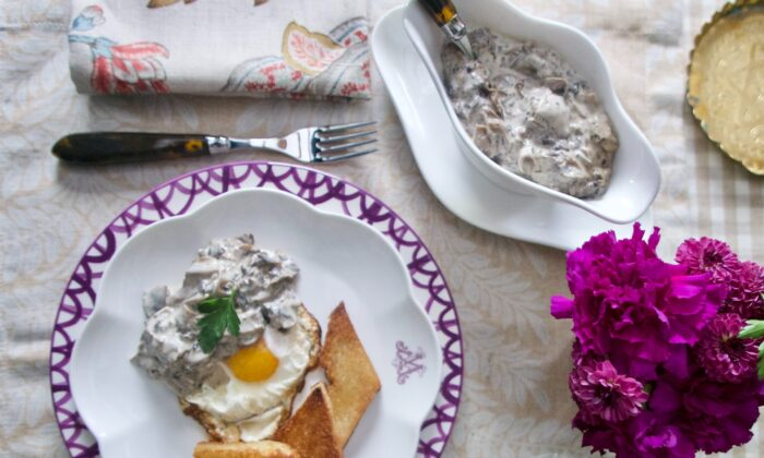 Serve this mushroom-sherry sauce over fried eggs—one of endless ways to enjoy it. (Victoria de la Maza)