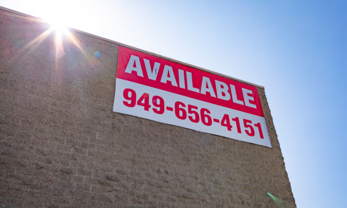 The City of Westminster is considering a temporary moratorium on commercial evictions. (John Fredricks/The Epoch Times)