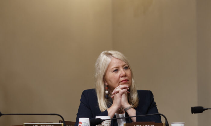 Rep. Debbie Lesko, (R-Ariz.) looks on as witnesses deliver their opening remarks during a House Homeland Security Committee hearing in Washington, on June 20, 2019. (Tom Brenner/Getty Images)