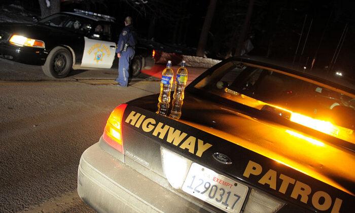 California Highway Patrol officers in a file photo. (Joe Klamar/AFP via Getty Images)