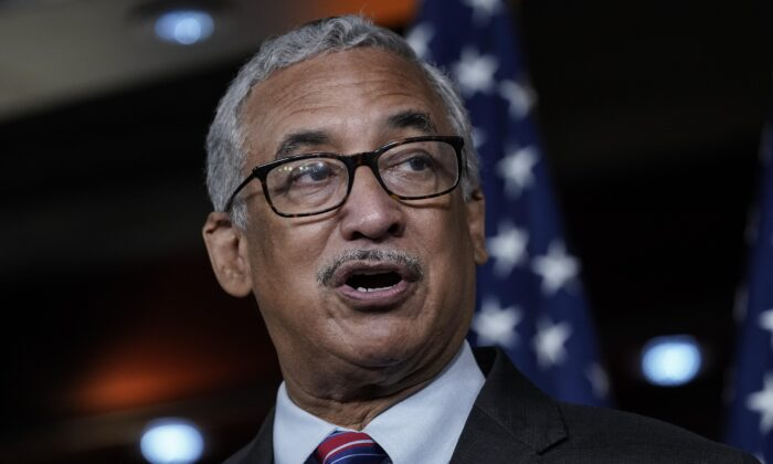 Rep. Bobby Scott (D-Va.), chairman of the Education and Labor Committee, at the U.S. Capitol in Washington, D.C., on July 29, 2020. (Drew Angerer/Getty Images)