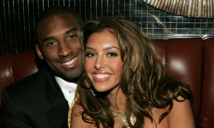 Basketball player Kobe Bryant and wife Vanessa at the official after party for the 2004 World Music Awards in Las Vegas, Nev., on Sept. 15, 2005. (Frank Micelotta/Getty Images)