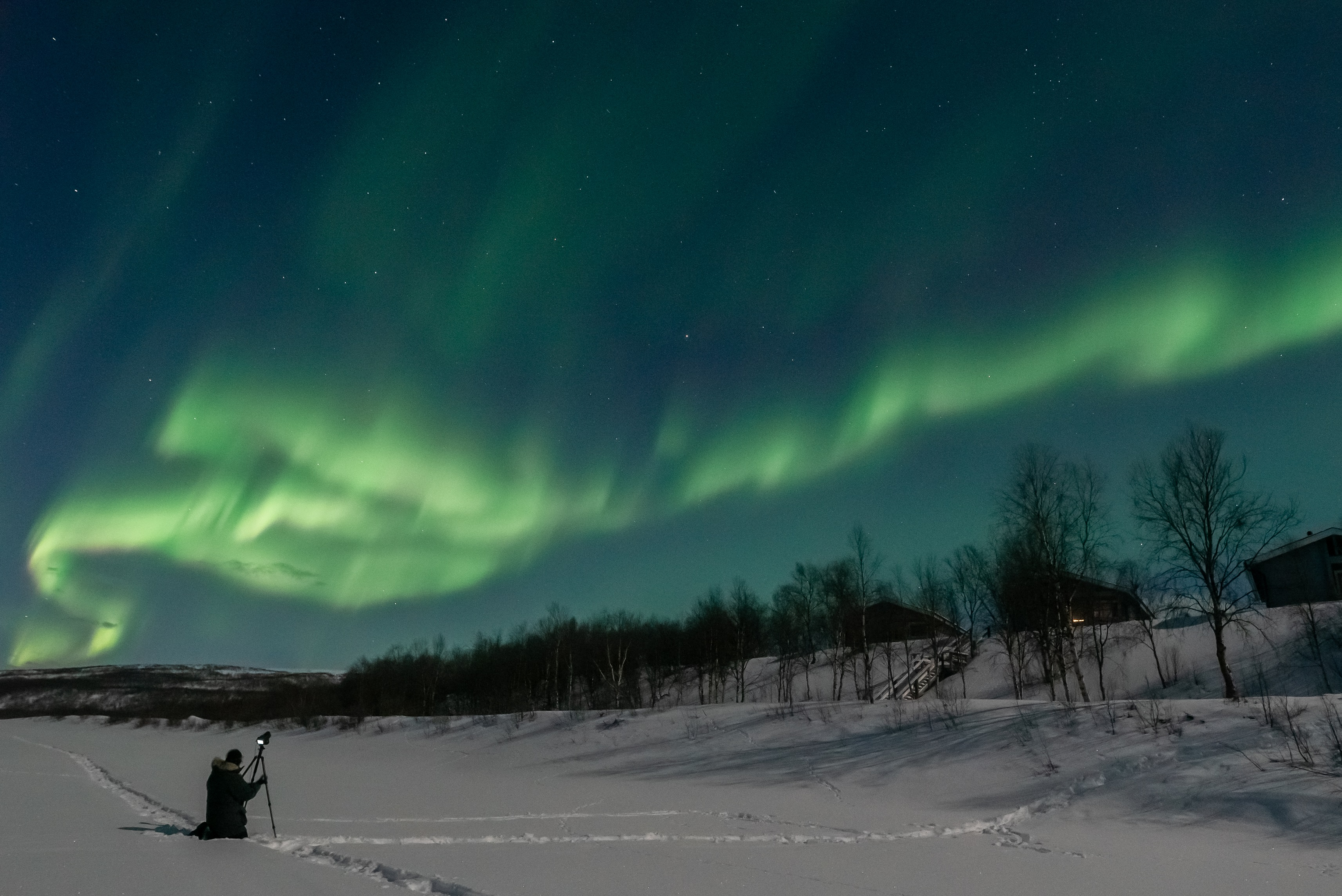 March from the ice of Teno Tiina Salonen - Aurora Holidays
