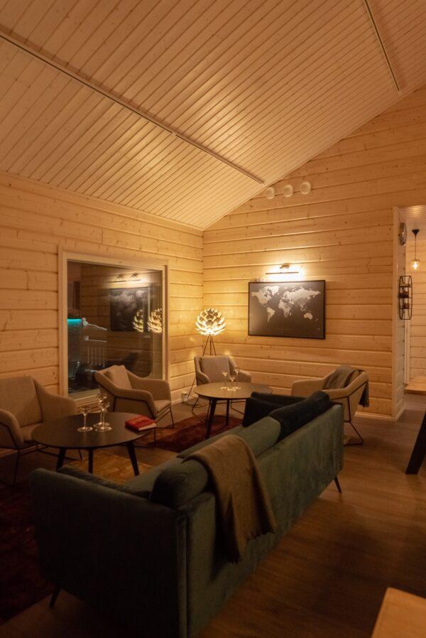 Restaurant lounge Tiina Salonen - Aurora Holidays