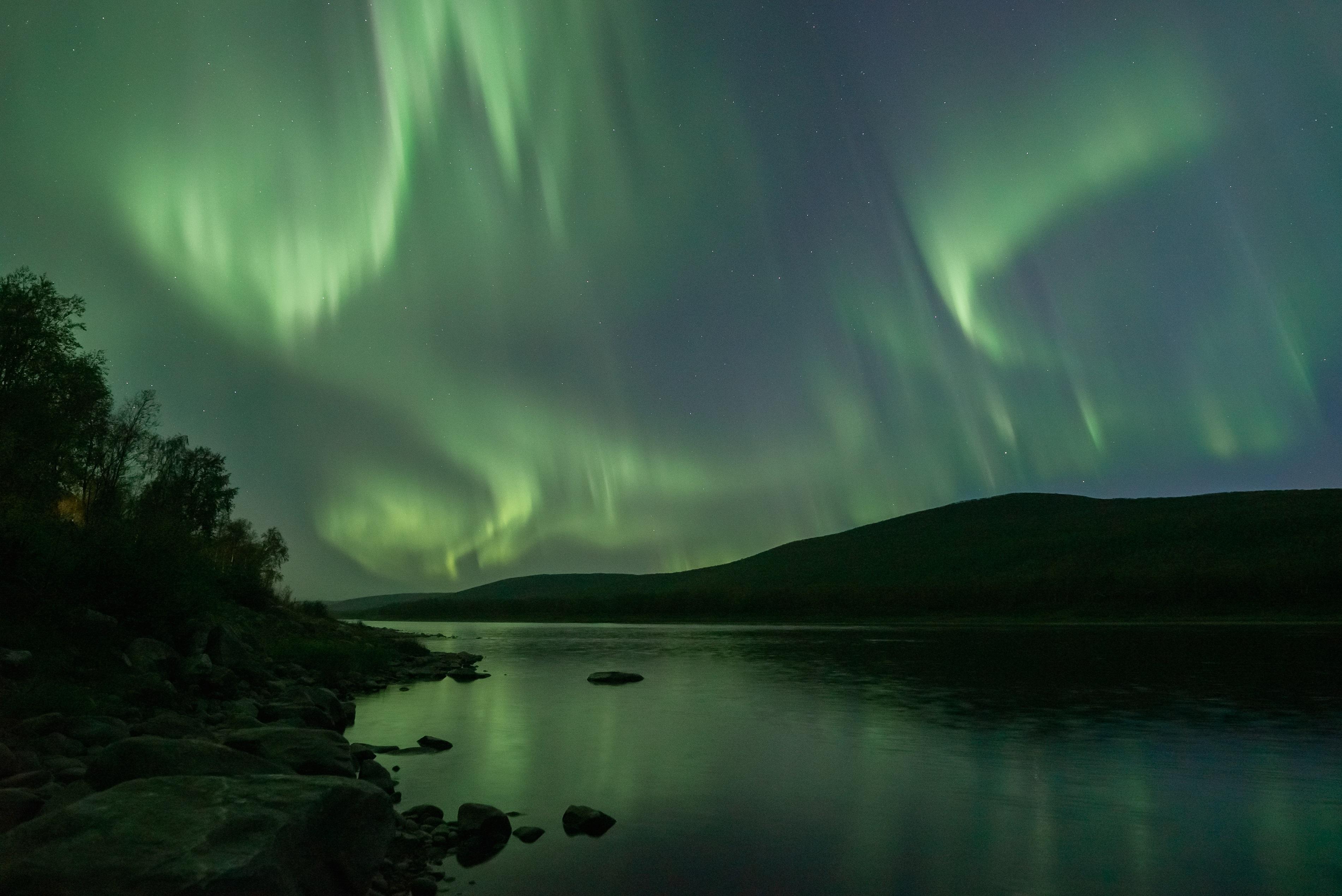 Teno river in October Tiina Salonen - Aurora Holidays