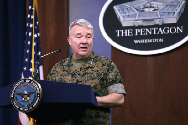 US Central Command Gen. McKenzie