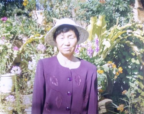 Ding Guiying, Falun Gong practitioner. Courtesy of Minghui.org.