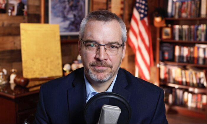 """Constitutional lawyer Rick Green in an interview with """"American Thought Leaders."""" (The Epoch Times)"""