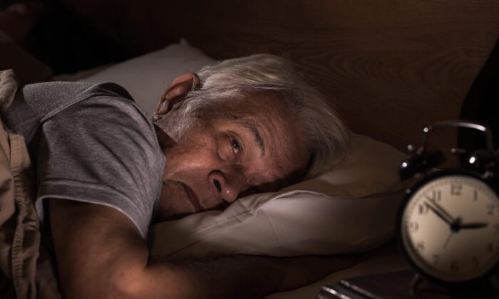 A sleepless night doesn't just leave you tired the next day, it undermines general health. (amenic181/Shutterstock)