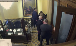 Newly Shown Videos Show Where Pence, Pelosi Went After Capitol Breach on Jan. 6