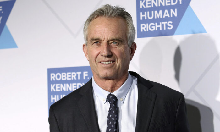 Robert F. Kennedy, Jr. attends the 2019 Robert F. Kennedy Human Rights Ripple of Hope Awards at the New York Hilton Midtown in New York on Dec. 12, 2019. (Greg Allen/Invision/AP)