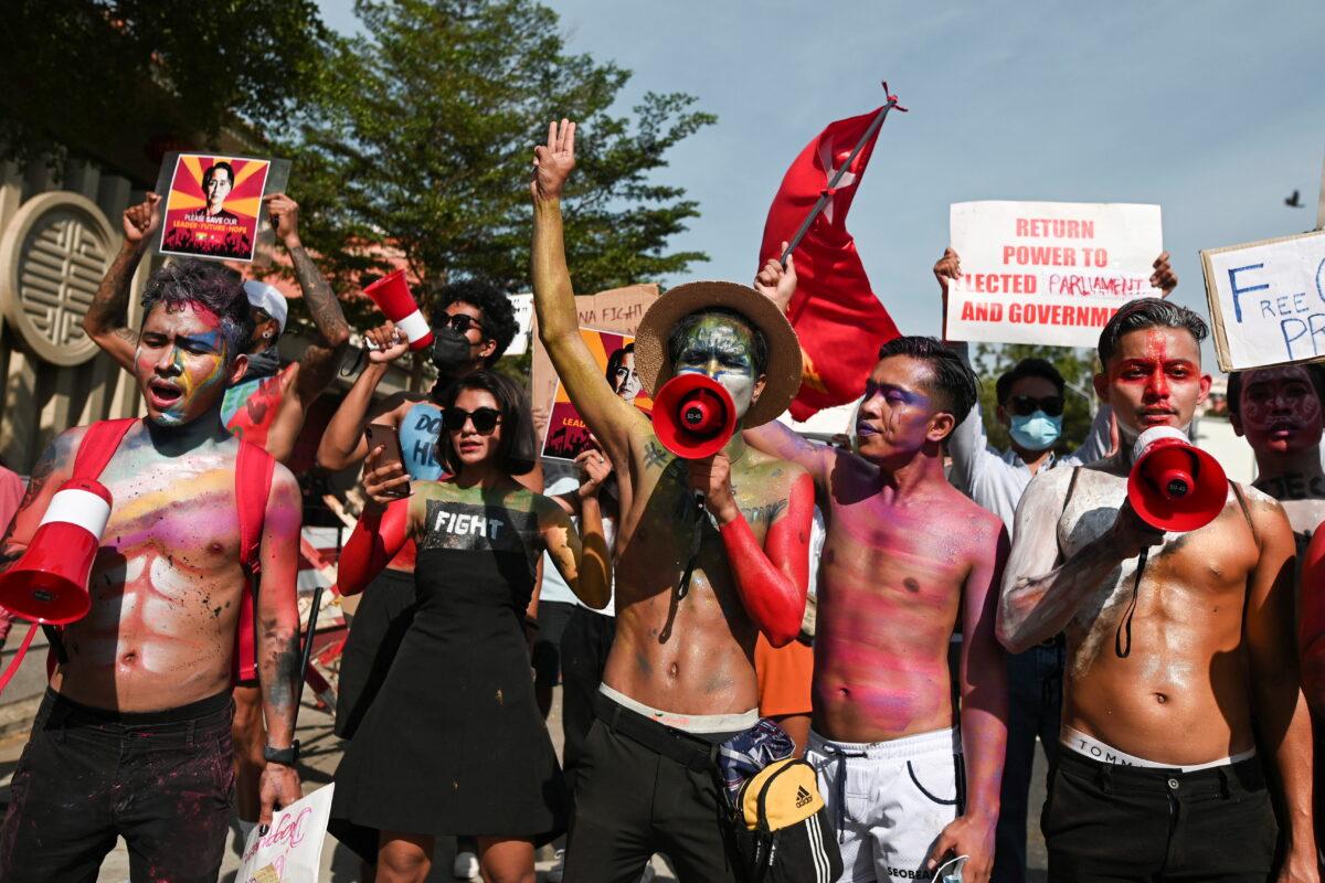 protest-in-burma