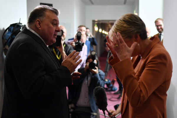 Craig Kelly and Tanya Plibersek