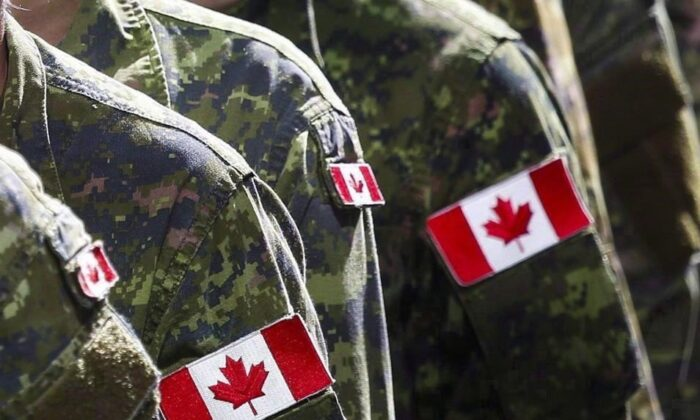 Figures provided by the Canadian Armed Forces show it was short about 2,000 regular force members and 5,000 reservists at the end of December. (The Canadian Press)