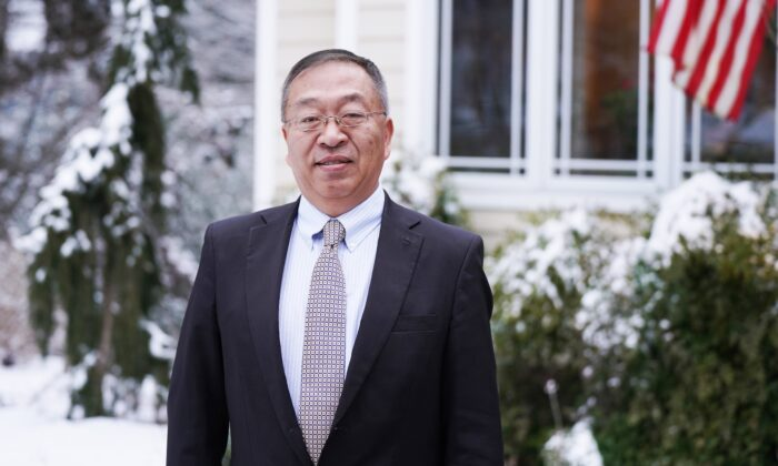 Hudson Institute Senior Fellow Miles Yu, Senior China Policy Advisor to former U.S. Secretary of State Mike Pompeo, in Annapolis, Md., on Feb. 11, 2021. (Tal Atzmon/The Epoch Times)