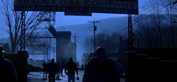 coal mine in Coalwood