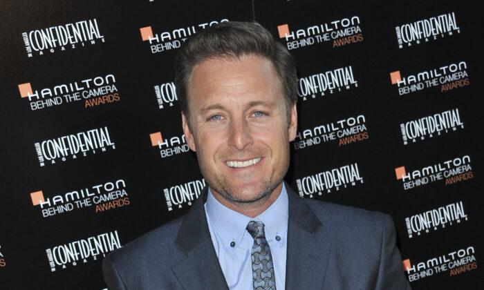 """Chris Harrison at the Hamilton """"Behind the Camera"""" Awards at the House of Blues West Hollywood, Calif. on Oct. 28, 2012. (Richard Shotwell/Invision/AP, File)"""