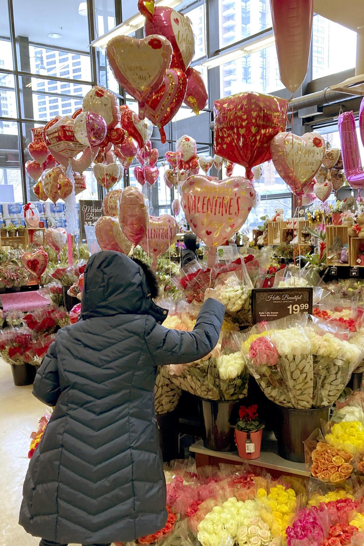 Virus Outbreak Valentines Day Chicago