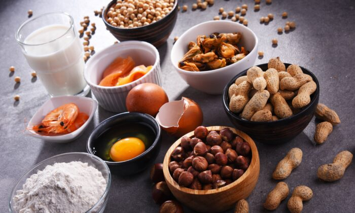 Food allergies are increasing at a dramatic rate and researchers are trying to unravel the causes. Current views point to a collision of factors. (monticello/Shutterstock)
