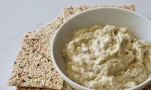 Delicious Dip: This Creamy Eggplant Spread Is Tasty Hot or Cold