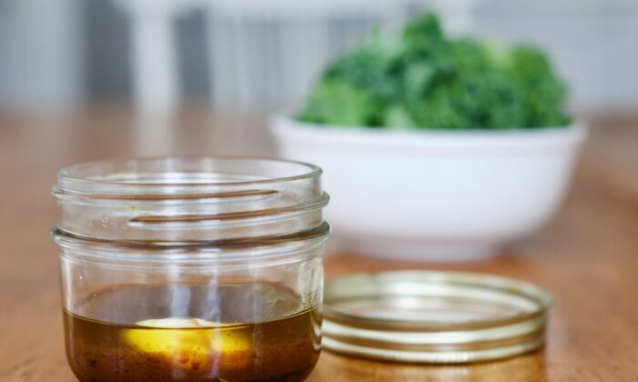 Toasted sesame oil adds a subtle nuttiness to balsamic vinaigrette. (Kary Osmond/TNS)