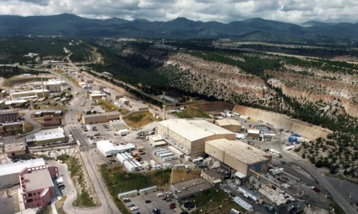 The Los Alamos National Laboratory in Los Alamos, N.M., in an undated file photo. (The Albuquerque Journal via AP)