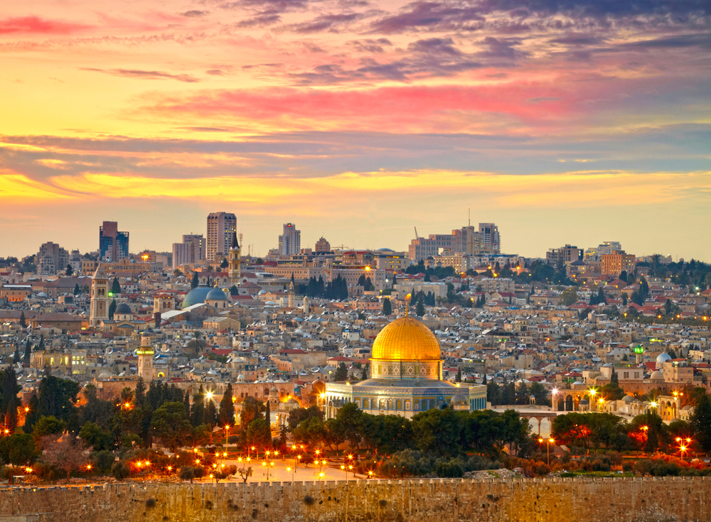 View,To,Jerusalem,Old,City.,Israel