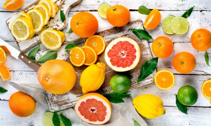 Just when we're most in need of sunshine, citrus fruits are shining their brightest. (Shutterstock/Tatjana Baibakova)