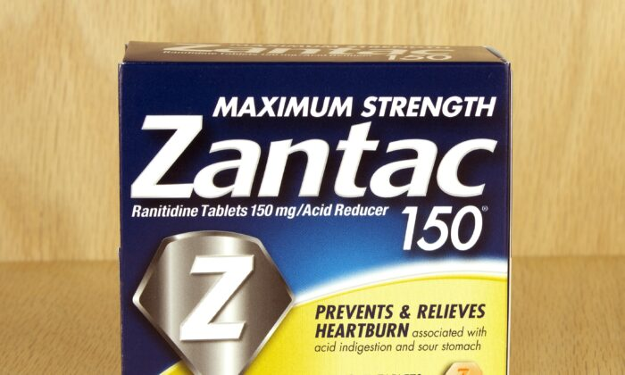 Zantac was a commonly used heartburn and ulcer prescription for decades before being recalled for NDMA.(digitalreflections/Shutterstock)