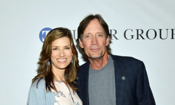 Sam Sorbo and Kevin Sorbo at the 34th annual Great Sports Legends Dinner, a benefit for the Buoniconti Fund to Cure Paralysis, in New York, on Oct. 7, 2019. (Mike Coppola/Getty Images for The Buoniconti Fund To Cure Paralysis )