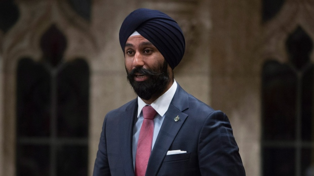 Raj Grewal was a rookie MP when he left the Liberal caucus in 2018, amid the beginning of the police investigation, for what he said were personal and health reasons. (Adrian Wyld/The Canadian Press)