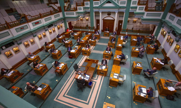 The Newfoundland and Labrador House of Assembly on Sept. 30, 2020.  (The Canadian Press/Paul Daly)