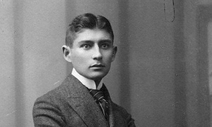 Franz Kafka, in 1906. (Sigismund Jacobi/public domain via Wikimedia Commons)