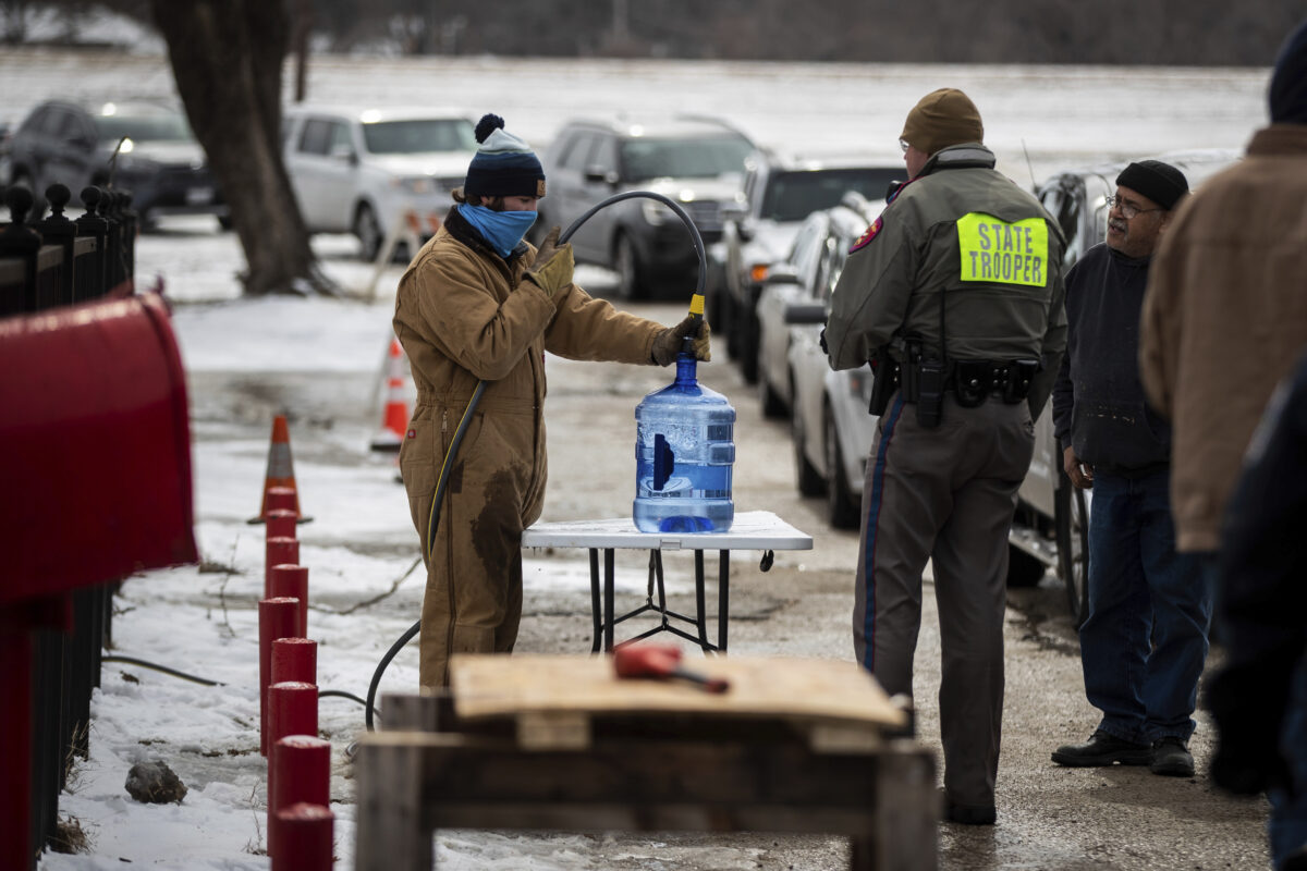 Hospitals Confront Water Shortages in Winter Storm Aftermath