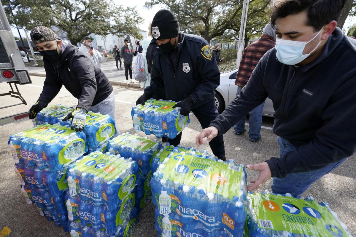 Texas water crisis