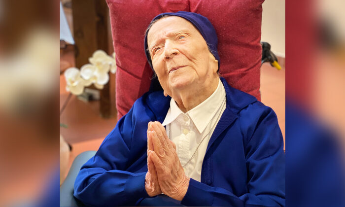(Sainte-Catherine Laboure care home/David Tavella via AP)