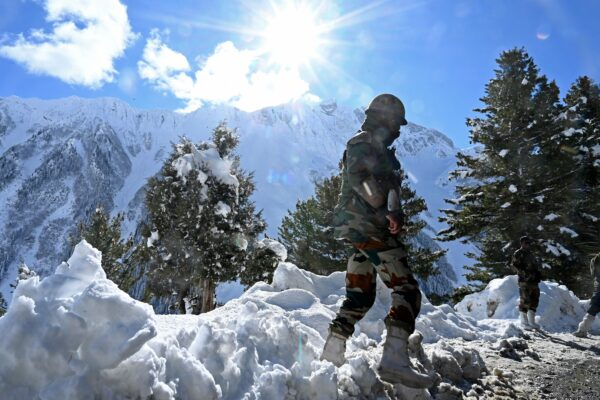Indian army soldier