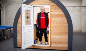 Ex-Footballer Turns Luxury 'Glamping' Pods Into Shelters for Homeless to Get Back on Their Feet