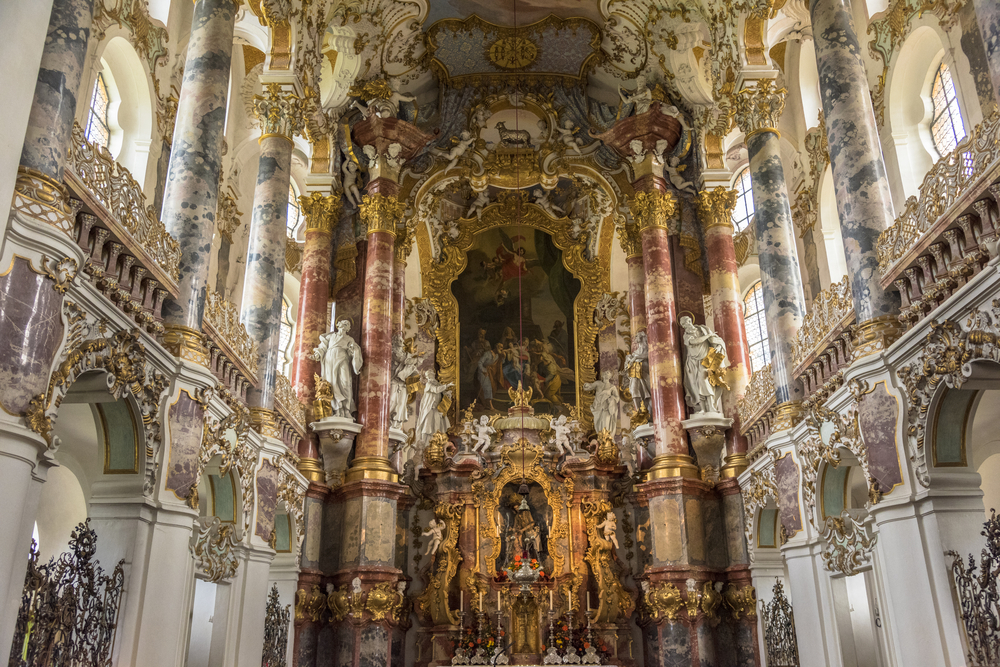 Wieskirche,In,Bavaria