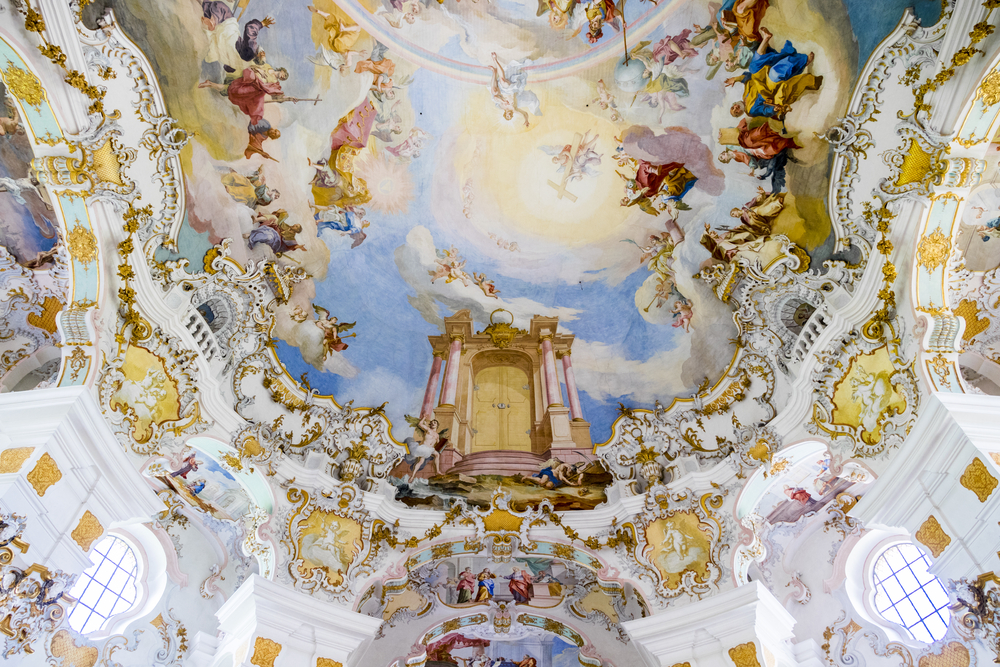 Wies,,Germany,-,August,4,,2017:,The,Pilgrimage,Church,Of