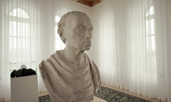 An undated file photo shows the bust of German philosopher Immanuel Kant in his museum in  Kaliningrad, Russia. (Stringer/AFP via Getty Images)