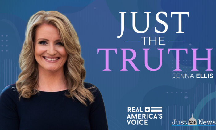 """The banner for """"Just The Truth,"""" a show hosted by Jenna Ellis. (Courtesy of Jenna Ellis)"""